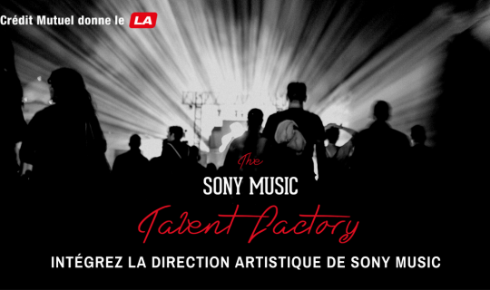 sony music talent factory recrutement