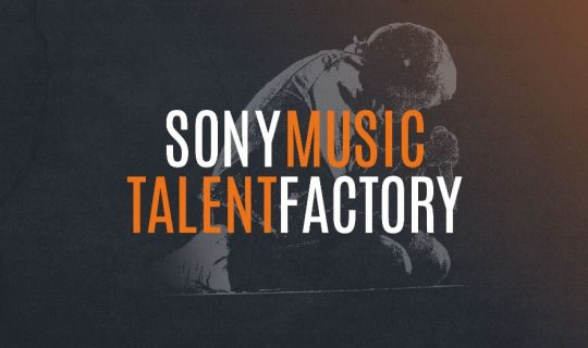 Visuel Sony Music Talent Factory