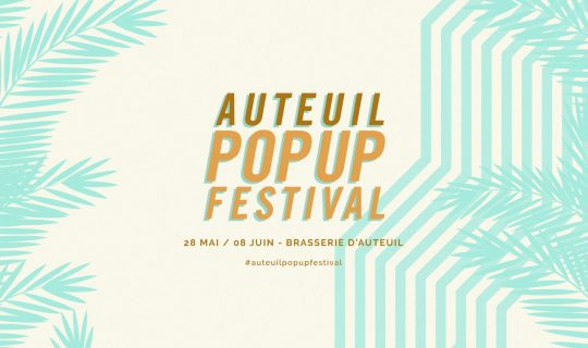 Page de garde Auteuil Pop Up Festival