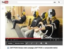 Daft Punk w warszawskim metrze (video!)
