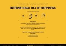 Międzynarodowy Dzień Szczęścia z Pharrellem Williamsem.