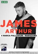 James Arthur ogłasza pierwszy koncert w Polsce!
