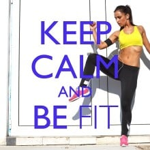 "Various – ""Keep Calm and… Be Fit"""