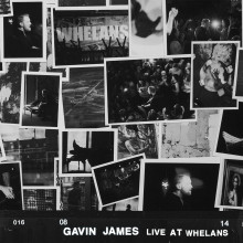 "Gavin James – ""Live at Whelans"""