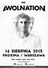 AWOLNATION na jedynym koncercie w Warszawie!