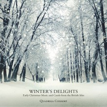 "Quadriga Consort – ""Winter's Delights – Early Christmas Music and Carols from the British Isles"""