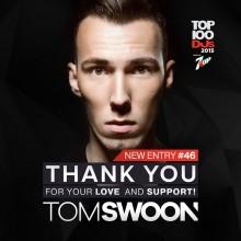 Wielki sukces polskiego DJa! Tom Swoon w pierwszej 50. plebiscytu DJ MAG TOP100!
