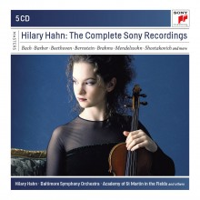 Hilary Hahn – Hilary Hahn – The Complete Sony Recordings