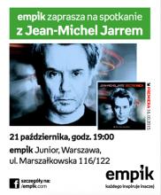 Dziś o 19:00 spotkanie z Jean-Michel Jarre'm w warszawskim Empiku Junior!