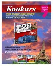 """Konkurs """"Ticket to Paris"""". Wygraj wycieczkę!"""