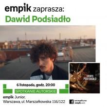 """Przyjdź na spotkanie do Empiku i zdobądź autograf Dawida Podsiadło na płycie """"Annoyance and Disappointment""""!"""