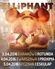 """ELLIPHANT na 3 koncertach w Polsce będzie promować nową płytę """"Living Life Golden"""" już w kwietniu!"""