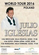 JULIO IGLESIAS W POLSCE! Trzy koncerty latynoskiej legendy już w czerwcu!