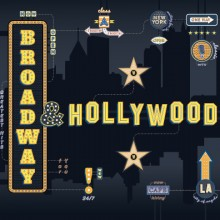 "Various Artists – ""Broadway & Hollywood"""