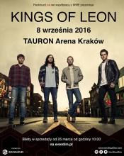 KINGS OF LEON ponownie w Polsce – 8 września TAURON Arena Kraków!!!!!