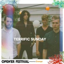 Terrific Sunday na głównej scenie na Open'er Festival!