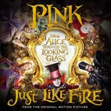 """P!NK powraca! Posłuchaj jej nowego utworu """"Just Like Fire"""" do filmu Alicja Po Drugiej Stronie Lustra!"""