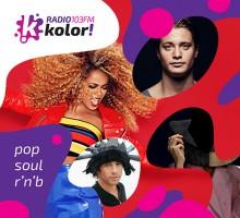 Przebojowa składanka Radio Kolor: POP, SOUL, R'N'B – płyta, która wciąga kolorowo! Od dzisiaj w sklepach!