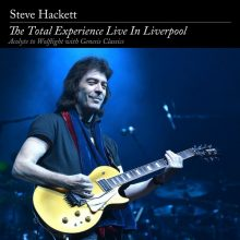"Steve Hackett – ""The Total Experience Live In Liverpool"""