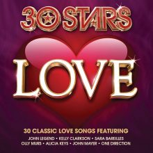 "Various – ""30 Stars: Love"""