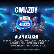ALAN WALKER gwiazdą zagraniczną ESKA MUSIC AWARDS 2016!