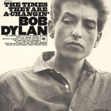 """Bob Dylan – """"The Times They Are A Changin'"""" (LP)"""