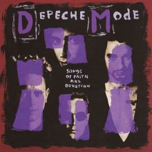 "Depeche Mode – ""Songs Of Faith and Devotion"" (LP)"