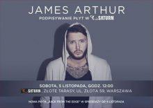JAMES ARTHUR nareszcie w Polsce… na nowej płycie i na podpisywaniu płyt!