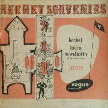 """Sidney Bechet & Claude Luter & André Réwéliotty – """"Bechet Souvenirs"""""""