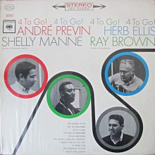 """André Previn – """"4 To Go!"""""""