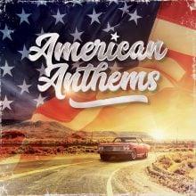 """Various – """"American Anthems"""" (LP)"""