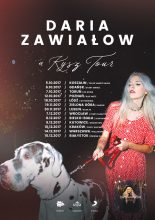 """Daria Zawiałow ogłasza swoją pierwszą trasę koncertową """"A Kysz Tour""""!"""