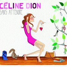 """Celine Dion – """"Sans attendre"""" (LP)"""