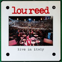 "Lou Reed – ""Live In Italy"" (LP)"