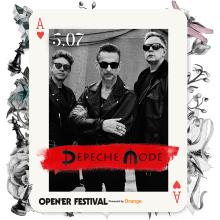 DEPECHE MODE gwiazdą główną Open'er Festival 2018!