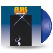 "Elvis Presley – ""Moody Blue (40th Anniversary Clear Blue Vinyl)"" (LP)"