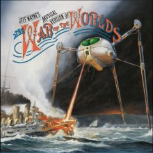 "Jeff Wayne – ""Jeff Wayne's Musical Version of the War of the Worlds"" (LP)"