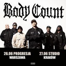 BODY COUNT na dwóch koncertach w Polsce!
