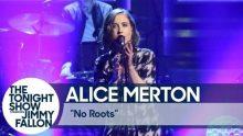 ALICE MERTON z przebojem 'No Roots' w programie Jimmy'ego Fallona!