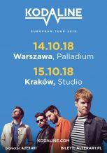 KODALINE – dwa koncerty w Polsce promujące nową płytę zespołu!