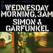 "Simon & Garfunkel  – 'Wednesday Morning, 3 A.M."" (LP)"