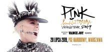P!NK przyjeżdza do Polski! BEAUTIFUL TRAUMA WORLD TOUR 2019 także w Warszawie na PGE Narodowym!