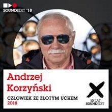 """Andrzej Korzyński zostanie uhonorowany statuetką """"Człowieka ze Złotym Uchem"""""""
