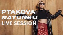 Ptakova i jej live session prosto z sali prób! Posłuchaj Ratunku w nowej wersji!