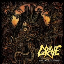 "Grave – ""Burial Ground (Re-issue 2019)"""
