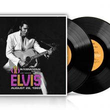 "Elvis Presley – ""Live at the International Hotel, Las Vegas, NV August 26, 1969"" (LP)"