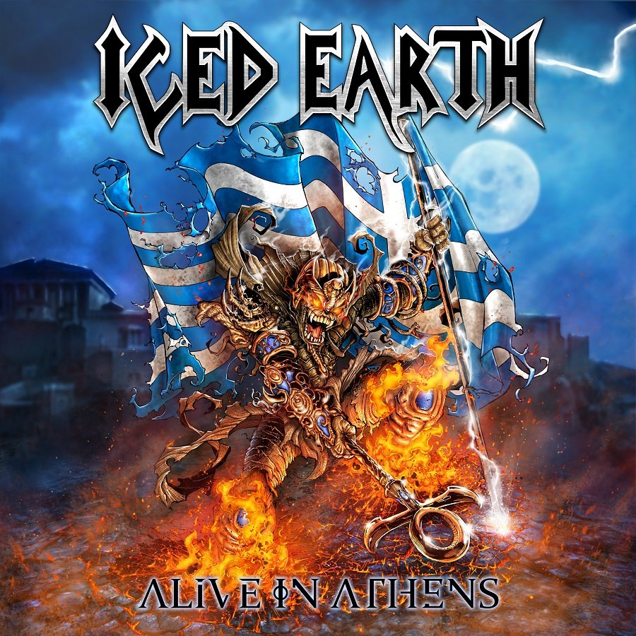 "Iced Earth – ""Alive in Athens (20th Anniversary Edition)"" (LP)"