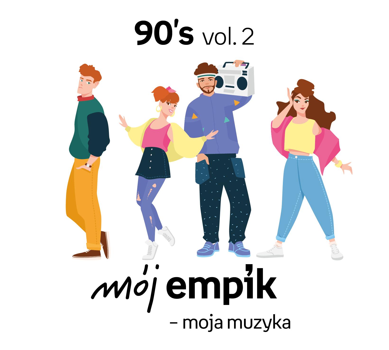 Mój Empik – Moja Muzyka. 90's vol. 2