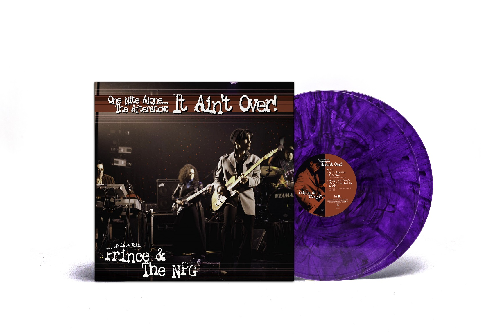 "Prince & The New Power Generation  – ""One Nite Alone… The Aftershow: It Ain't Over! (Up Late with Prince & The NPG)"" (LP)"