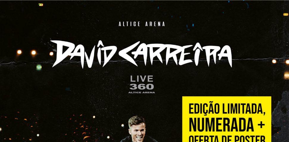 David Carreira 360 Altice Live+Sticker